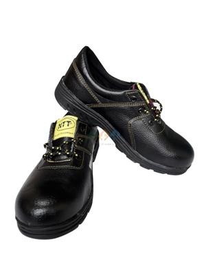 Giày da mũ sắt NTT chỉ vàng