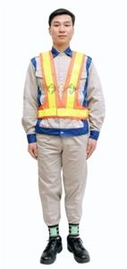 áo lưới phản quang lffd 09