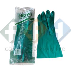 găng tay cao su nitren