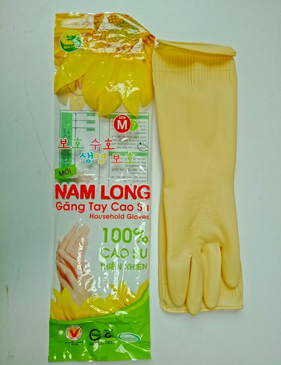 Găng tay cao su Nam Long da dụng (31-39,5cm)