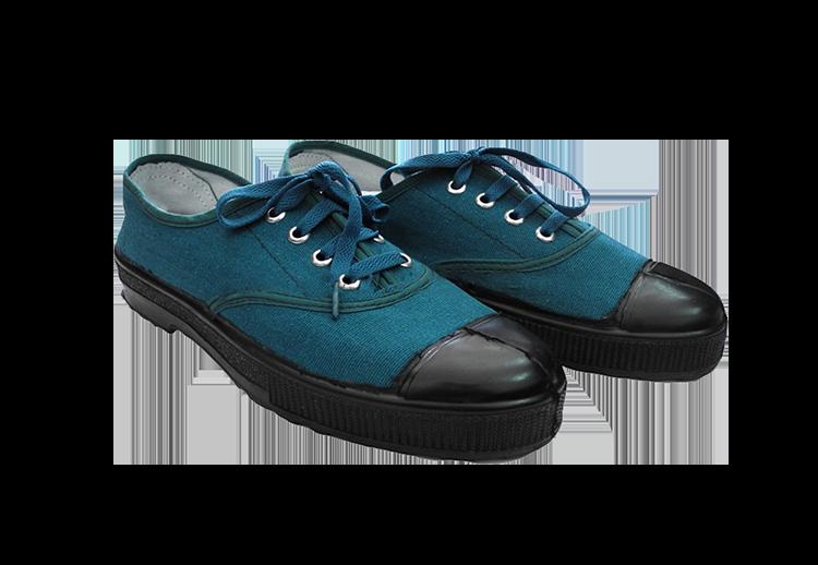Giày vải thấp cổ kiểu quân đội